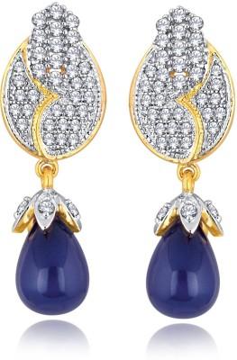 Alamod ALER 5063 Cubic Zirconia Brass Drop Earring