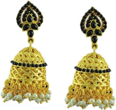 Maalyaa Latestcollections Brass, Copper Jhumki Earring