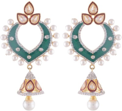 Midas Fashion Cubic Zirconia Alloy Chandelier Earring