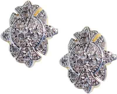 Kenza American Diamond Alloy Stud Earring
