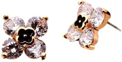 Roma Brothers Lv Style Swk1 Swarovski Crystal Alloy Stud Earring