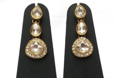 Womaniya kundan beauty Alloy Drop Earring