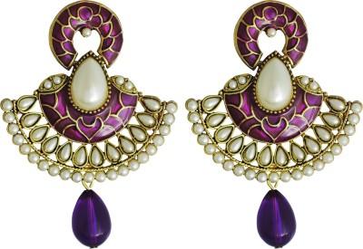 Aura Collection Statement23 Alloy Chandbali Earring