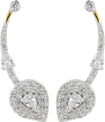 Dilan Jewels EAR000054 Zircon Silver Cuff Earring