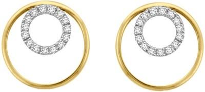 Sparkles T5480D Yellow Gold 18kt Diamond Stud Earring