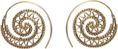 Divitha Allure Indo western alloy metal design pair of darling hangings. Metal Drop Earring