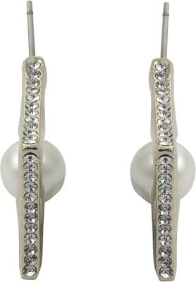 Gildermen GMEA13AKRR13 Cubic Zirconia Alloy Hoop Earring