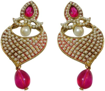 NM Products Posing Pink Copper Drop Earring