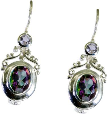 Riyo Fairstar Mystic Quartz Quartz Sterling Silver Dangle Earring