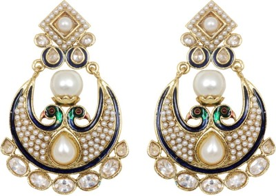 Jewelfin Lovely Mayura Alloy Chandbali Earring