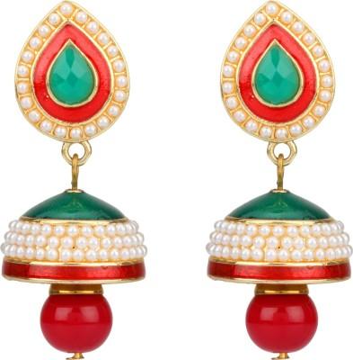 Savvy Traditional Earring Brass Drop Earring