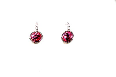 Jiya Fashion Pretties American diamond Stainless Steel Drop Earring