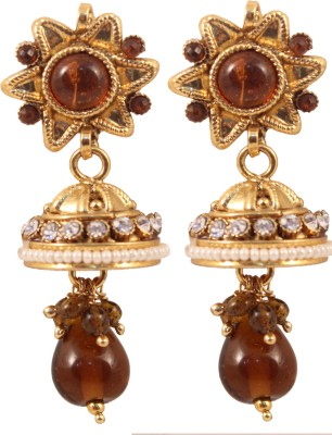 Itzmyfashion Alloy Jhumki Earring
