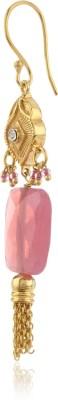 Thingalicious Joyful Long Tassel Alloy Dangle Earring