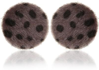 Moedbuille Grey Stud Earrings [MBER00369] Cubic Zirconia Alloy Stud Earring
