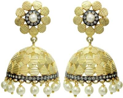 Peora Matte Alloy Jhumki Earring