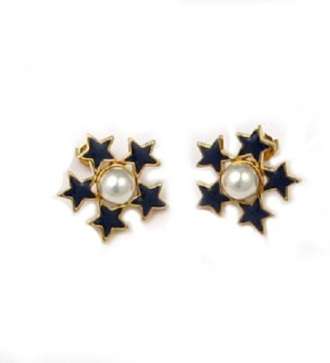 The Museum Outlet Stars of Freedom Alloy Stud Earring