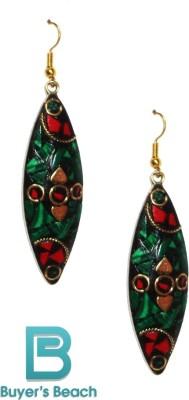 Buyer's Beach Leaf Alloy Dangle Earring