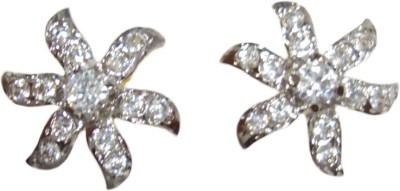 Paridhi Jewels Sunshine earrings Cubic Zirconia Alloy Stud Earring