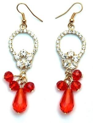 Jodhpuriyas BRIGHT SPARKLING FASHIONABLE LOVELY LATKAN EARING Alloy Dangle Earring