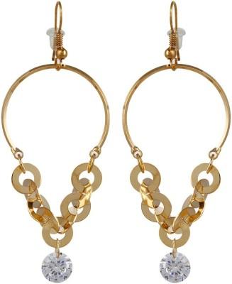 Lazreena Spring Sparkle Cubic Zirconia Alloy Dangle Earring