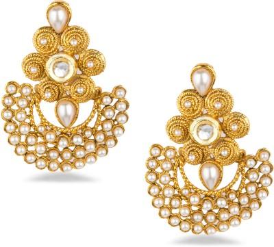 Bridesmaid Copper Chandbali Earring