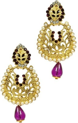 Shine My Life Prosperity Alloy Chandbali Earring
