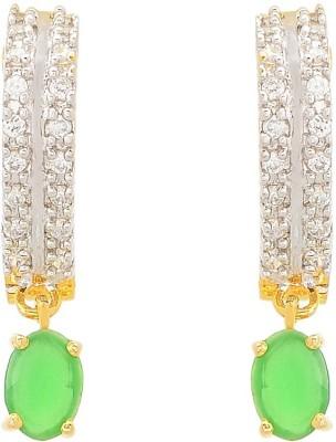 Apollodiamonds Bali Cubic Zirconia Alloy Drop Earring
