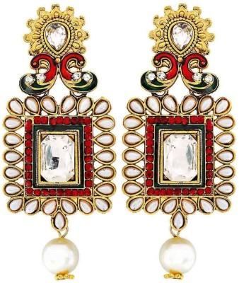Maayra Terrific Indian Ethnic Copper Drop Earring
