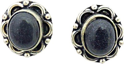 Cultural Fusion Black stone earring Alloy Stud Earring