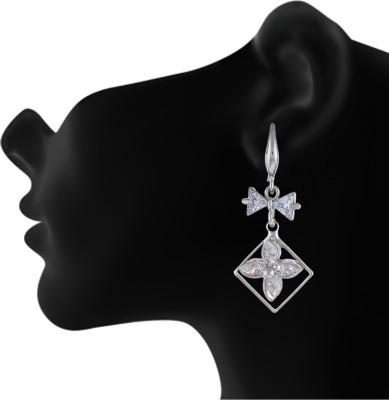Numaish Jumki Crystal Alloy Dangle Earring