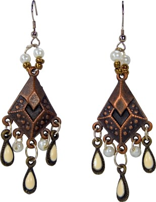 Retaaz Tenda Ardour Junk Metal Dangle Earring