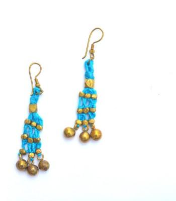 Art Godaam Dhokra Tribal 0010 Brass Dangle Earring