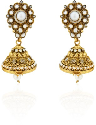 Sia Art Jewellery Copper Jhumki Earring