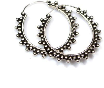 Anavaysilver Ear038 Sterling Silver Hoop Earring