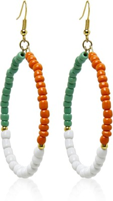 Galz4ever Designer Independence Day Alloy Drop Earring