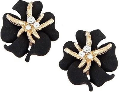 Kalaplanet Black Diamond Alloy Stud Earring