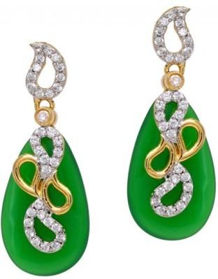 Jewelskaro Dangler Latest Antique fashion jewelry Designs Crystal Alloy Drop Earring