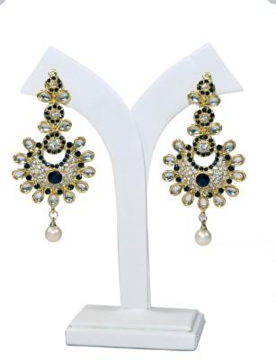 Jack & Ginni Alloy Jhumki Earring