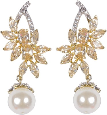Muchmore Gorgeous Beautiful Style Fashion For Women Gift Jewelry Cubic Zirconia Alloy Drop Earring