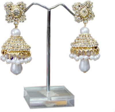 Aza Collections Designer Alloy Jhumki Earring
