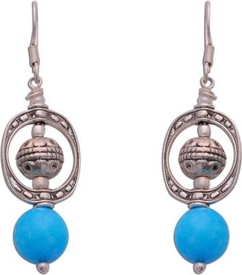The Fine World Contemporary style silver lektan earrings Sterling Silver Dangle Earring