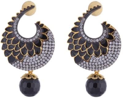 the jewelbox Cubic Zirconia Brass Stud Earring