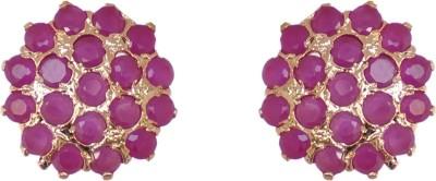 Janki Jewellers Collection Design Cubic Zirconia Alloy Stud Earring