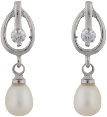 Classique Designer Jewellery Fashionable Pearl Alloy Drop Earring