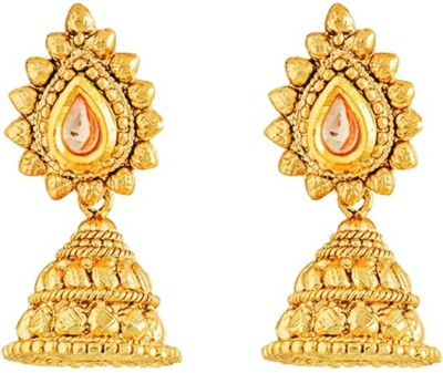 Art Nouveau High Quality Brass Jhumki Earring