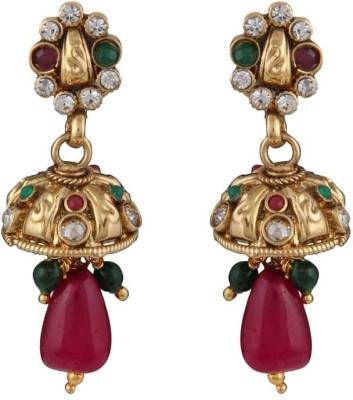 Panini M_16_2 Copper Jhumki Earring