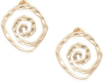 Ayesha Metal Stud Earring