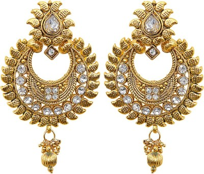 Grand Jewels Gold Plated Alloy Dangle Earring