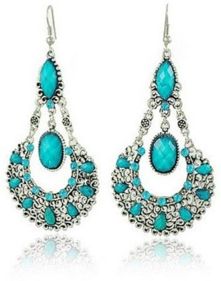 Glitz Glamour Crystal Alloy Drop Earring